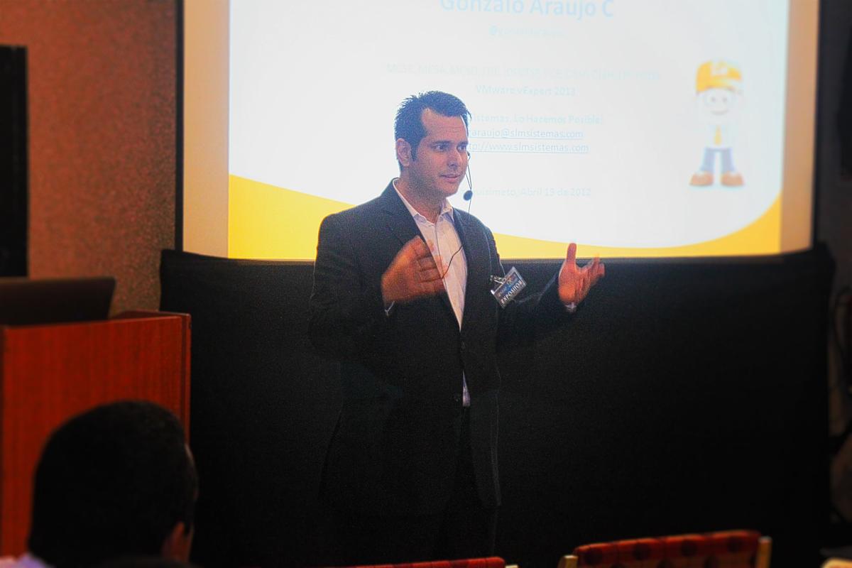 Gonzalo Araujo Cabarcas, CEO de SLM Sistemas