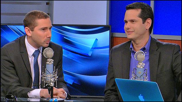 Mauricio Villasmil (izquierda), Director de Estrategia y Mercadeo de SLM y Gonzalo Araujo (derecha) Director General.
